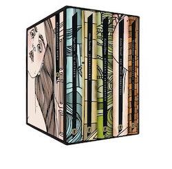 Moderna svenska klassiker (box). S/Y Glädjen ; Rövarna i Skuleskogen ; Strändernas svall ; Det mest förbjudna ; Juloratoriet