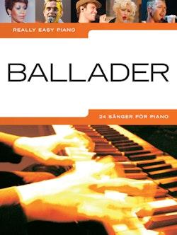 Ballader : 24 sånger för piano