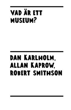 Vad är ett museum?