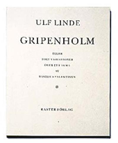Gripenholm eller Tolv variationer över ett tema av Basilius Valentinus
