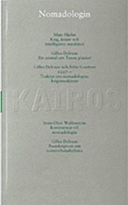 Nomadologin : Skriftserien Kairos Nr 4