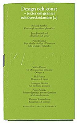 Design och konst D. 2 : Texter efter 1960 : Skriftserien Kairos Nr 8:2