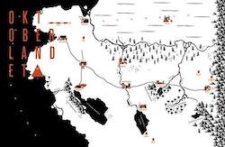 Oktoberlandet karta