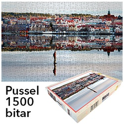 Skridskoåkaren Östersund - Pussel 1500 bitar