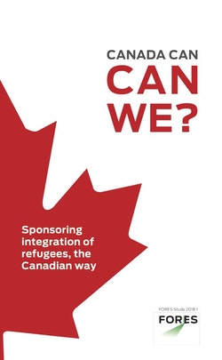 Canada can, can we? – Sponsoring integration of refugees, the Canadian way