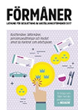 Förmåner - Lathund för beskattning av anställningsförmåner 2017