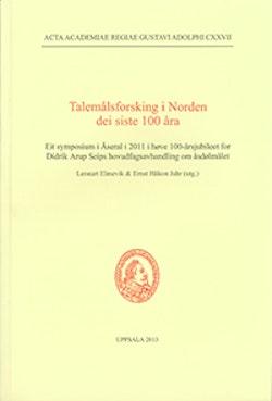Talemålsforskning i Norden dei siste 100 åra