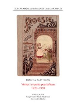 Verser i svenska poesialbum 1820-1970