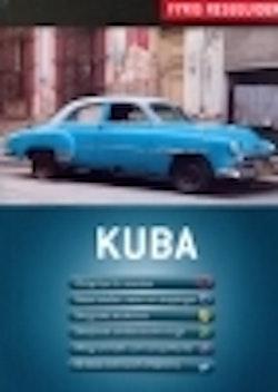 Kuba med karta