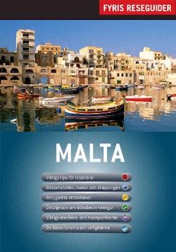 Malta med karta