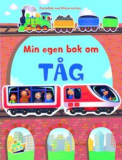Min egen bok om tåg - pysselbok med klistermärken