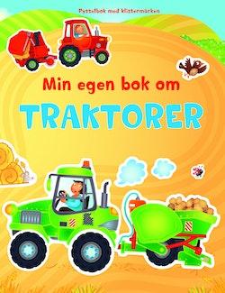 Min egen bok om traktorer : pysselbok med klistermärken