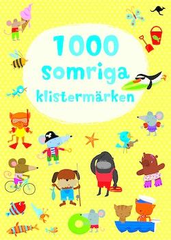1000 somriga klistermärken