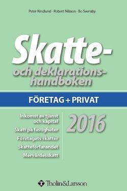 Skatte- och deklarationshandboken 2016
