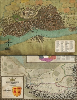 Symbaroum : karta Yndaros & grevskap