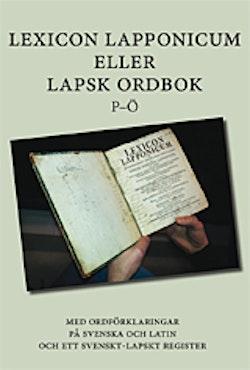 Lexicon Lapponicum (P-Ö)
