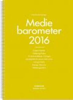 Nordicom-Sveriges Mediebarometer 2016