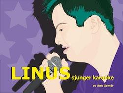 Linus sjunger karaoke