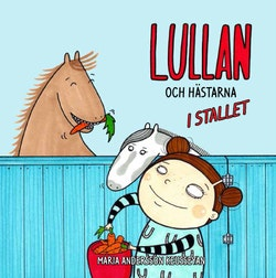 Lullan och hästarna i stallet