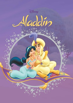 Disney Fönsterbok : Aladdin