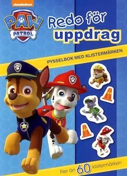 Paw Patrol. Pysselbok med klistermärken