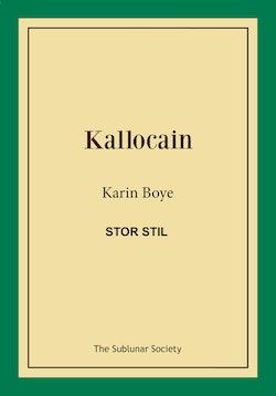 Kallocain (stor stil)