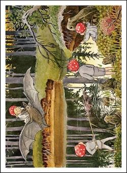 Poster Tomtebobarnen - Beskow