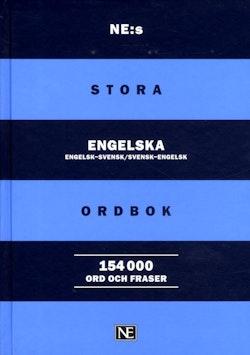 NE:s stora engelska ordbok : engelsk-svensk/svensk-engelsk 154000 ord och f