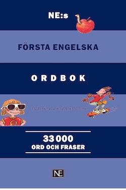 NE:s första engelska ordbok : engelsk-svensk/svensk-engelsk 33000 ord och f