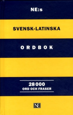 NE:s svensk-latinska ordbok : 28 000 ord och fraser