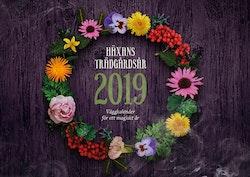 Häxans trädgårdsår 2019 : väggkalender för ett magiskt år