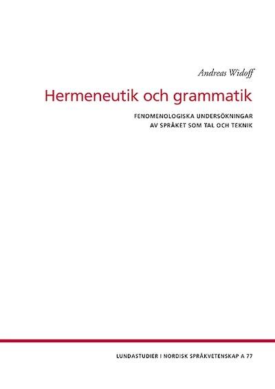 Hermeneutik och grammatik