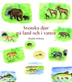 Svenska djur på land och i vatten