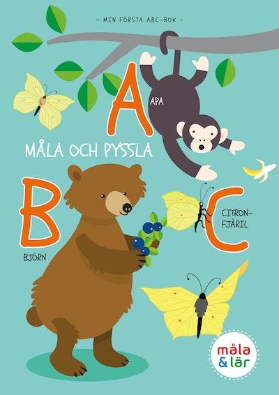 Måla och pyssla djurens ABC