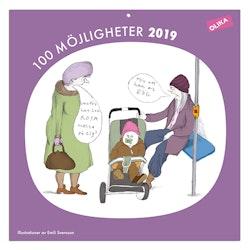 OLIKA Almanacka 2019 : 100 Möjligheter