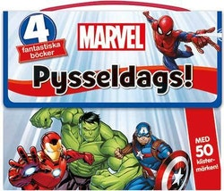 Marvel: Pysseldags! 4 fantastiska böcker