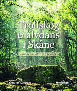 Trollskog och älvdans i Skåne : vandra till gåtfulla platser