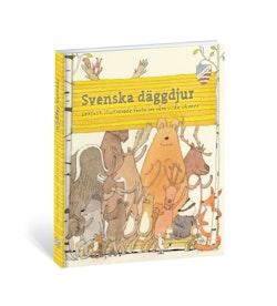 Svenska däggdjur : lekfullt illustrerade fakta om våra vilda vänner