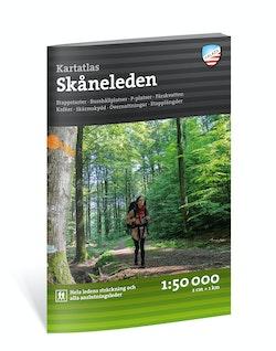 Kartatlas Skåneleden 1:50.000