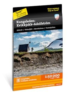 Kungsleden: Kvikkjokk - Adolfström 1:50.000