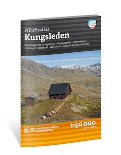Friluftsatlas Kungsleden 1:50 000