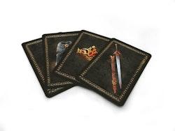 Svärdets sång - spelkort