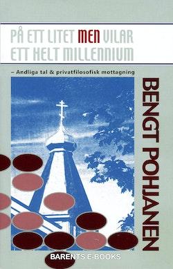 På ett litet men vilar ett helt millennium : andliga tal & privatfilosofisk mottagning