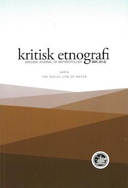 kritisk etnografi – Swedish Journal of Anthropology, 2019, Vol 2