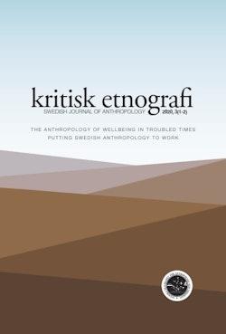 kritisk etnografi – Swedish Journal of Anthropology, 2020, Vol 3
