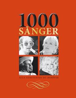 1000 Sånger - Alla sångtexter du behöver