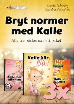 Bryt normer med Kalle (alla tre böckerna i ett paket)