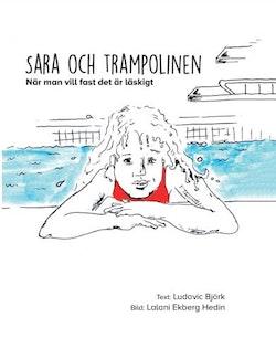 Sara och trampolinen - när man vill fast det är läskigt