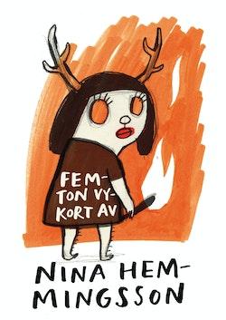 15 vykort av Nina Hemmingsson