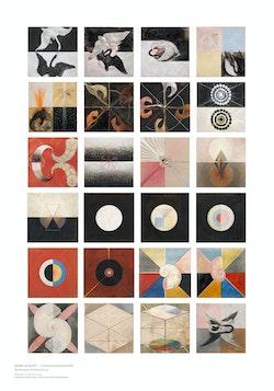 Hilma af Klint : The Swan, No. 1-24